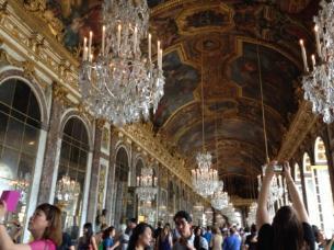 ベルサイユ宮殿の鏡の間