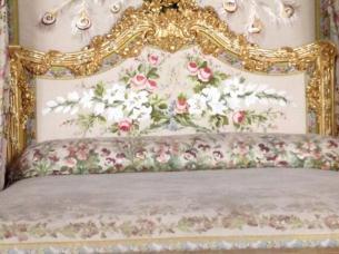 マリー・アントワネットのベッド