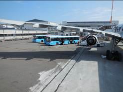 ヘルシンキ空港にて
