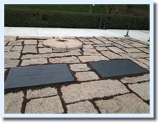 ケネディ大統領とその家族のお墓