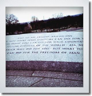 ケネディ大統領の有名な演説文